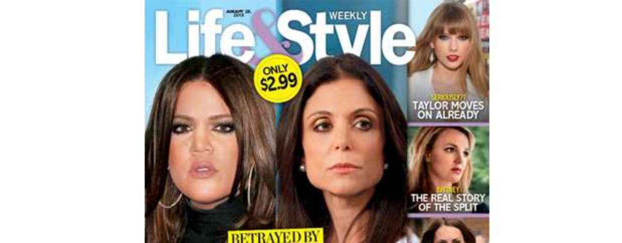 Ay yay yay!  TV's biggest reality stars are being hit hard with their OWN reality!  As we reported, today, apparently Khloe Kardashian has confronted hubby Lamar Odom about his fidelity, resulting in him moving out of their home.  Meanwhile, Bethenny Frankel can't get get her ex, Jason Hoppy, to get rid of his ring...and also suspects other women may have been in his life, reports Life & Style!