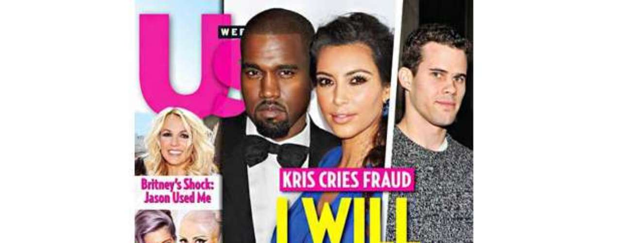 OMG!  Per the looks of this cover, Kris Humphries feels humiliated after word got out about Kim Kardashian's pregnancy.  Think Kris is so resentful he'll make her \