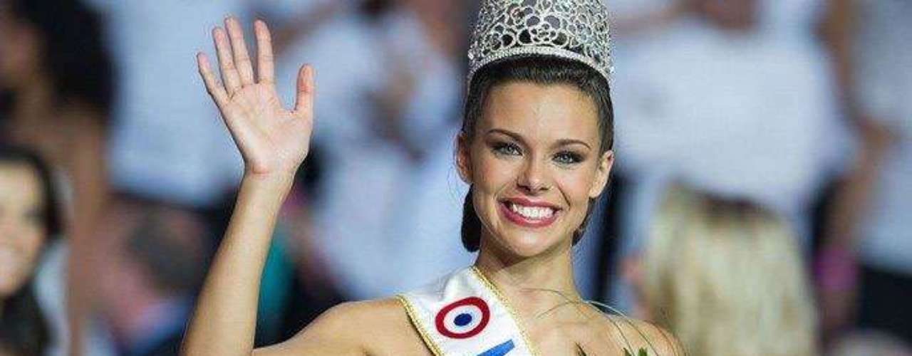 Ella es Marine Lorphelin, la mujer que representará la belleza de la mujer francesa en el próximo certamen de Miss Universo.