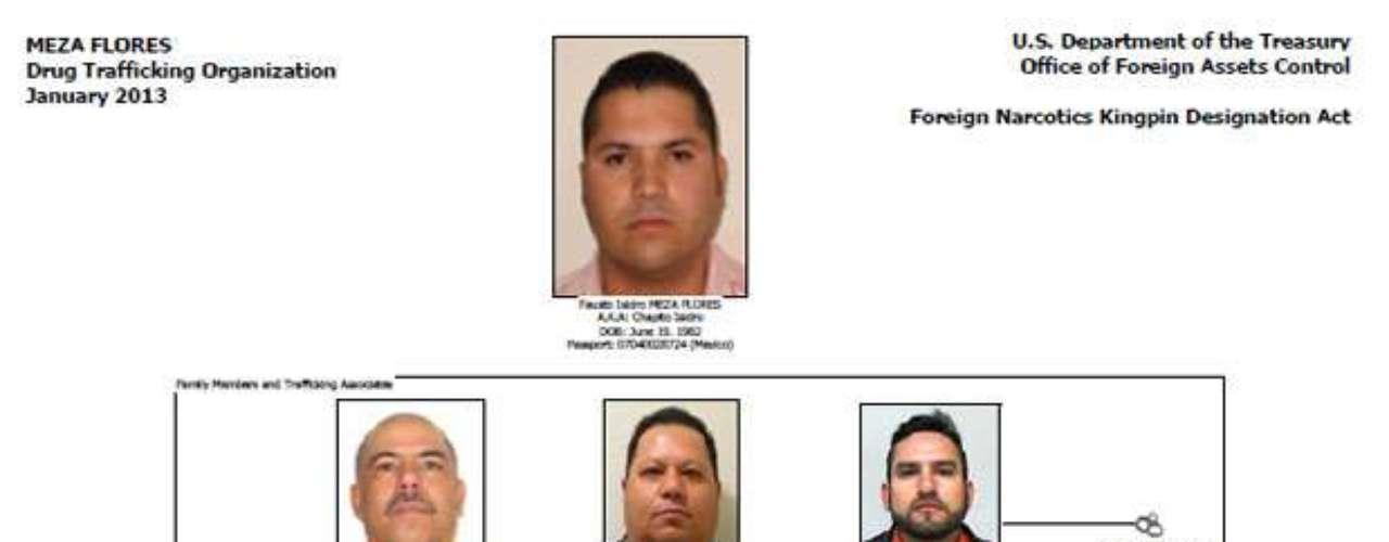 Fausto Isidro Meza Flores, alias el Chapito Isidro, el sanguinario enemigo en Sinaloa de Joaquín 'El Chapo' Guzmán, encabeza un nuevo cártel del narcotráfico en México: Los Meza Flores.
