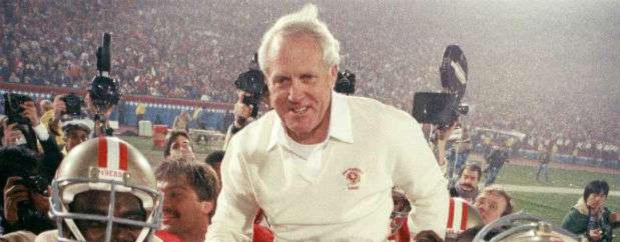 El Super Bowl XIX lo conquistó San Francisco 49ers que venció 38-16 aMiami Dolphins.