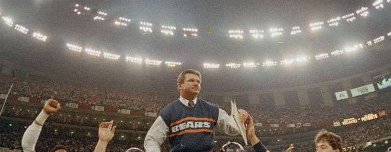 Los Chicago Bears se impusieron de forma fácil 46-10 a New England Patriots en el Super Bowl XX.
