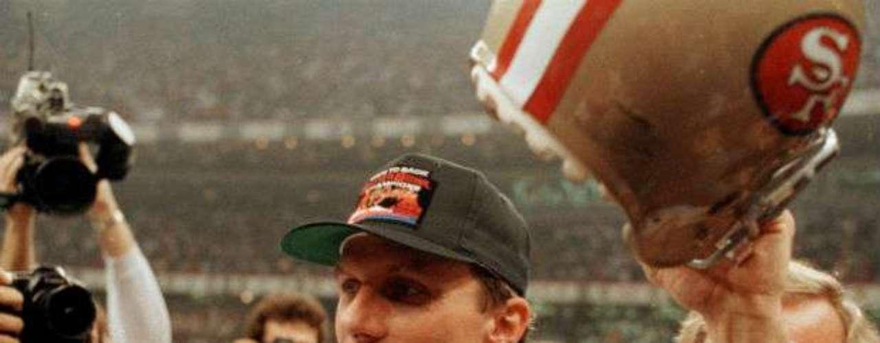 El Super Bowl XXIV fue conquistado por San Francisco 49ers que derrotaron 55-10 a Denver Broncos.