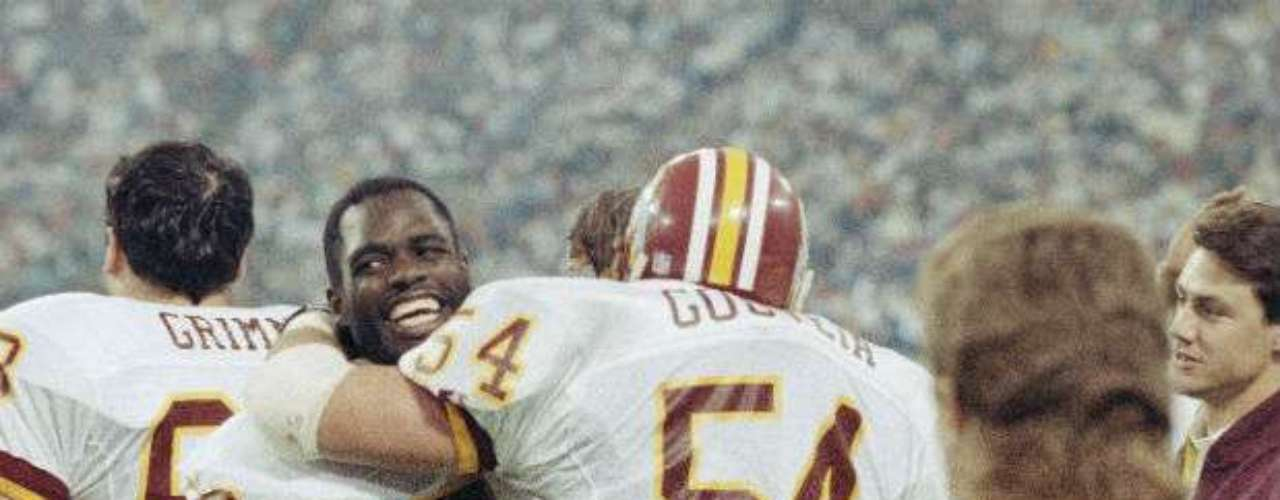 Los Washington Redskins derrotaron 37-24 a Buffalo Bills en el Super Bowl XXVI.