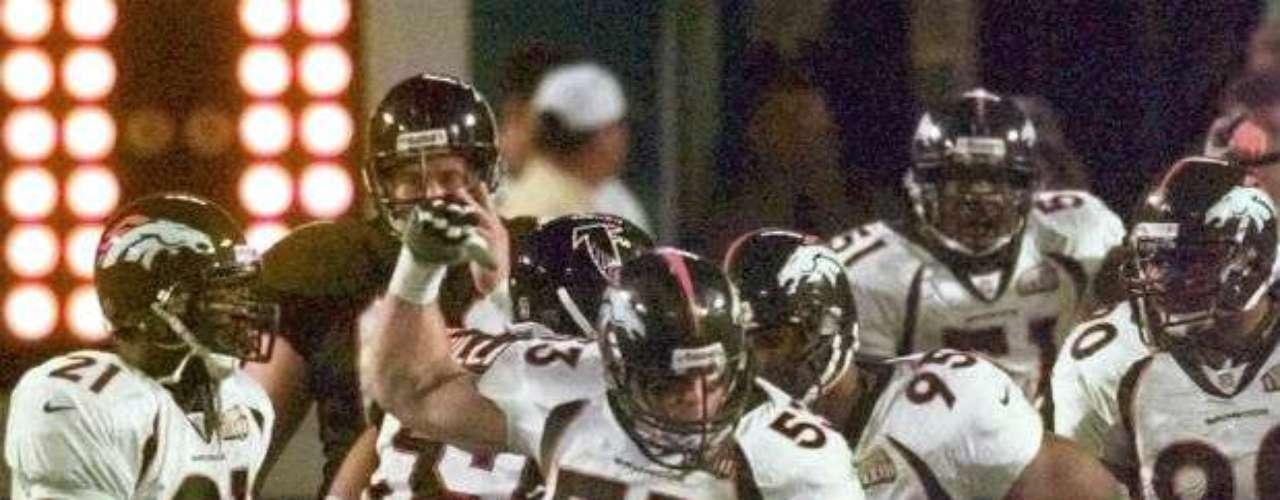 Denver Broncos conseguiría su segundo Super Bowl, el XXXIII, luego de vencer a los Atlanta Falcons por 34-19.