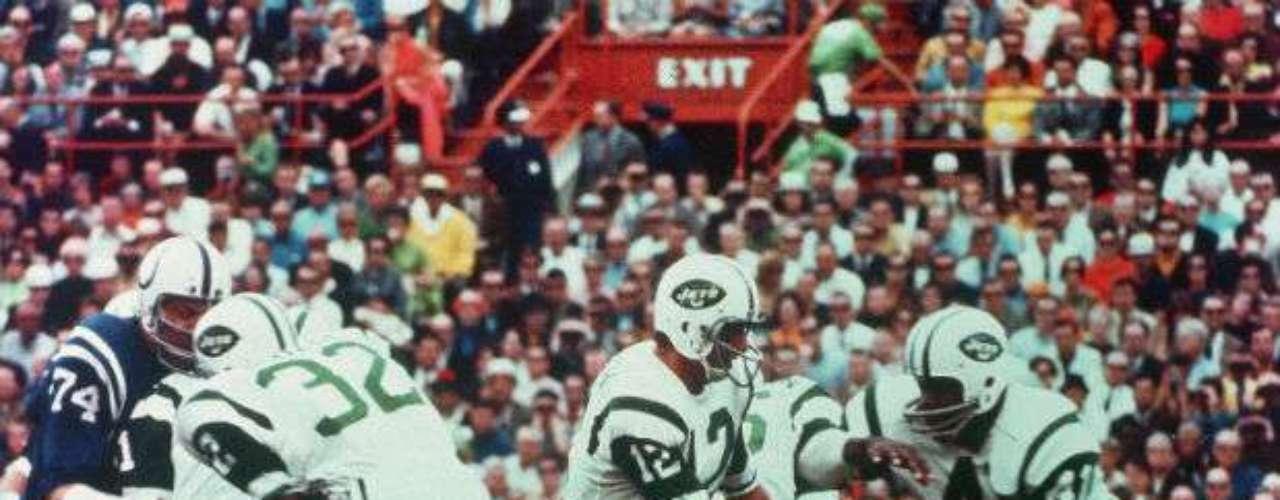 New York Jets dieron la más grande sorpresa en los Super Bowls al doblegar16-7 a los favoritos Baltimore Colts en la edición III.
