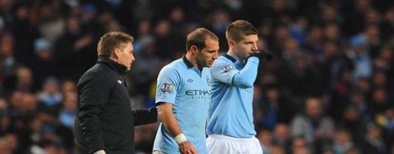 One negative note for Manchester City, Pablo Zabaleta had to leave the game due to injury in the second half.