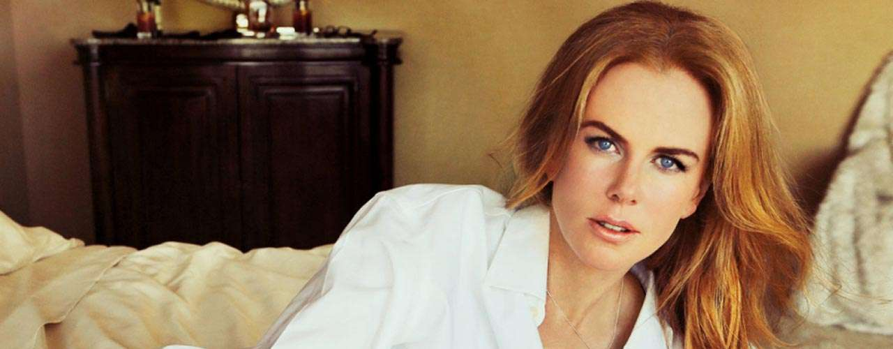 Las fotos de la actriz forman parte de una sesión para la revista Hollywood Reporter.