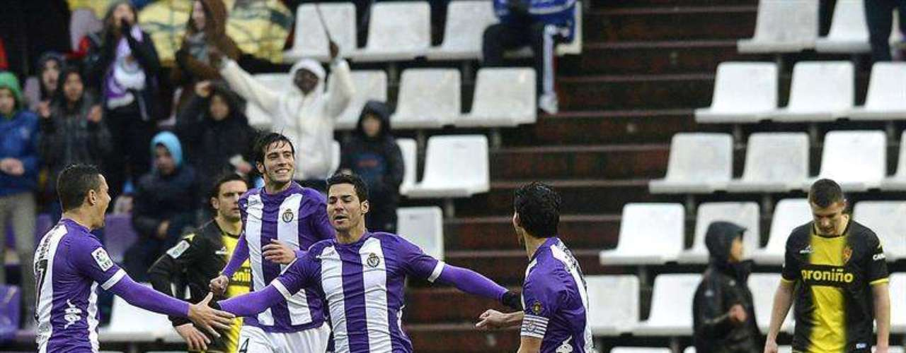 Valladolid took advantage of Zaragoza with a win (2-0).