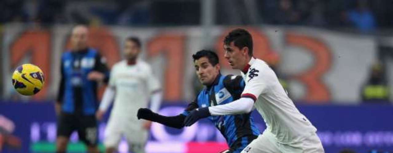 Atalanta drew 1-1 against Cagliari.