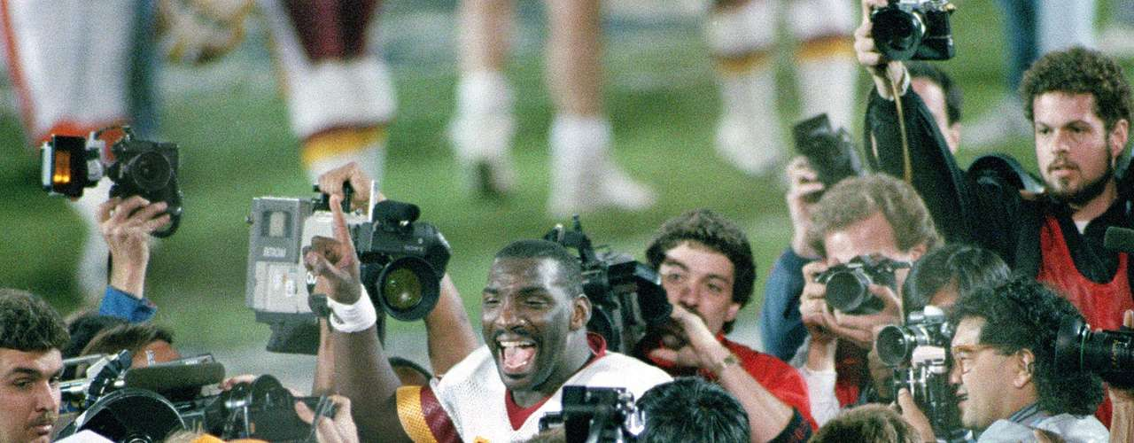 Doug Williams (NFL): They said African-Americans could not play quarterback in the NFL, and they said none would be good enough to lead their team to a Super Bowl victory. But Williams proved the naysayers wrong on both counts, leading Tampa Bay to within a game of a Super Bowl appearance in 1979 before taking over as the starter and leading the Washington Redskins to Super Bowl XXII. There, Williams had a performance for the ages, passing for 340 yards and four TDs to earn MVP honors in a 42-10 blowout that erased any doubts about the African-American quarterback in the NFL.