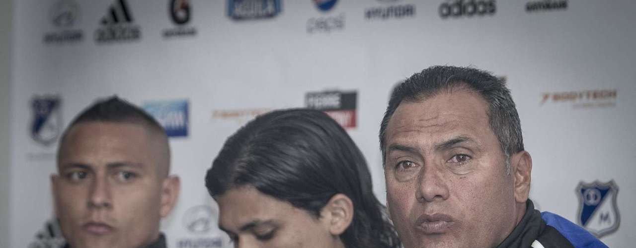 Fredy Montero, Dahwling Leudo, Anderson Zapata y Robinson Zapata mostraron su satisfacción por llegar a Millonarios, el objetivo de los cuatro es el mismo repetir la campaña del campeón