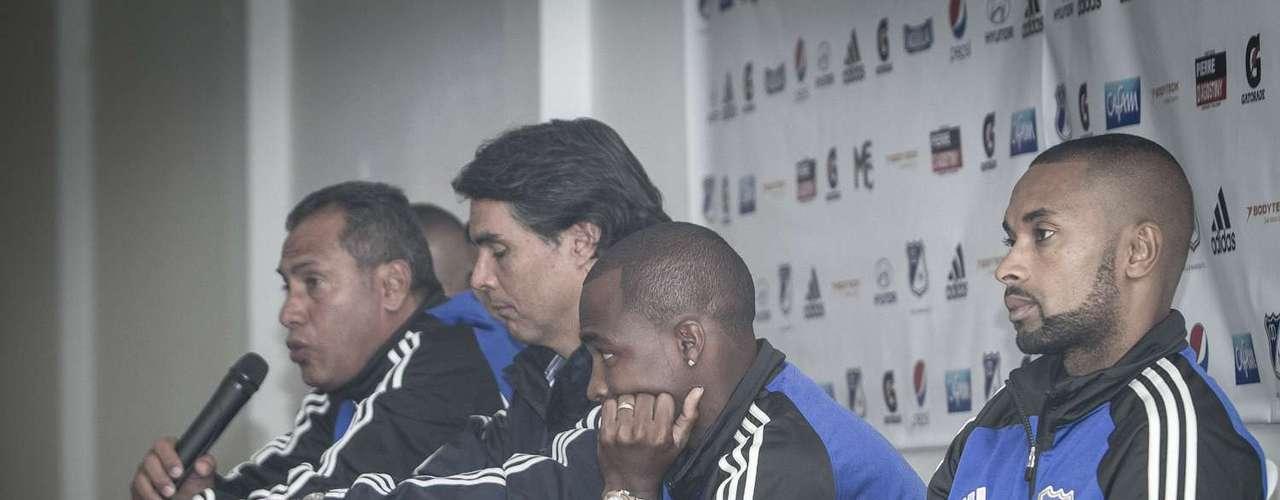 El técnico Hernán Torres, junto al presidente Felipe Gaitán, afirmaron que la continuidad es el principal refuerzo del equipo bogotano para afrontar el 2013.
