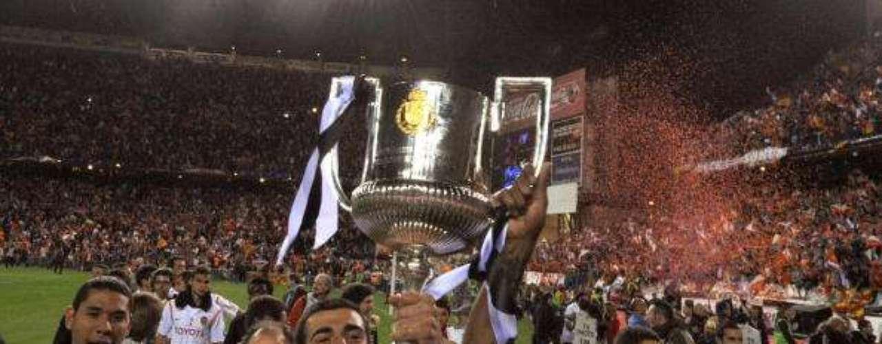 Valencia tiene siete coronas; en 2008 llegó la última.