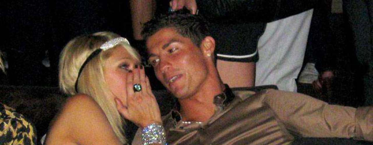 Cristiano Ronaldo: CR7 might be second best when it comes to Ballon dOrs, but few can match this Portuguese player when it comes to scoring off the field. Among his rumored conquests: Paris Hilton (pictured with Ronaldo in a nightclub in photo), Kim Kardashian (note: shes already been mentioned on this list), Maria Sharapova and a bevy of European starlets that are too many to mention.