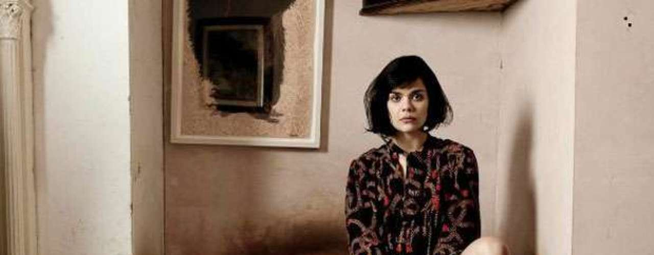 Natasha Khan - Better known as Bat For Lashes, is a singer-songwriter and multi-instrumentalist who's most recent album The Haunted Man, featured her naked on the cover because she really wanted to represent \