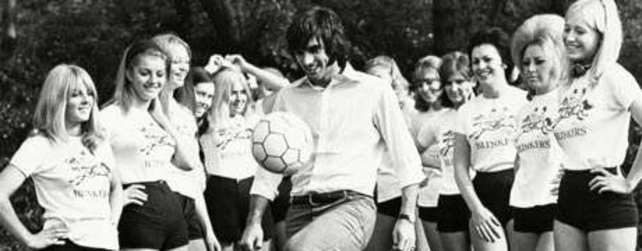 George Best: Manchester United's greatest ever player liked to play the field, so to speak, as his talent on the pitch was almost matched for his hard partying ways. It didn't hurt that Best was a cool cat as he was voted among the Top 50 most stylish men of the last 50 years by GQ. It is rumored that a Manchester gangster offered big cash to have Best's legs broken when he discovered the Northern Irish great had an affair with his wife.