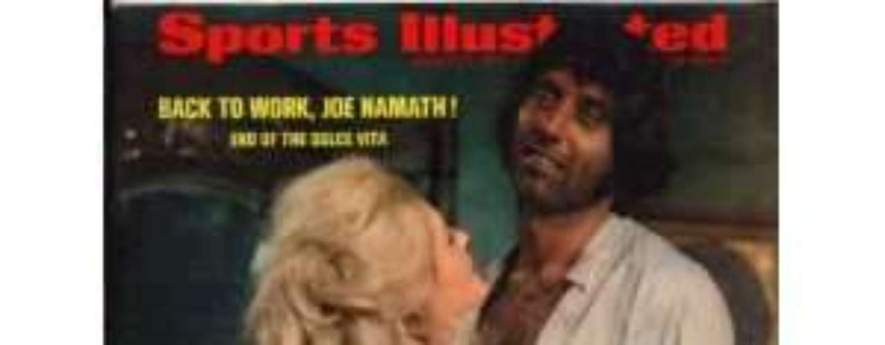 Joe Namath: Broadway Joe is perhaps best known for guaranteeing a Super Bowl victory, but one guarantee was that Namath would always be accompanied by beautiful ladies. He once opened a bar called, Bachelors III. Alas, even Joe Willie, settled down when he married in 1984. Of course, he divorced in 2000 and then hit on Suzy Kolber in front of millions on national television. His Casanova streak was immortalized on this cover of Sports Illustrated, as he filmed a movie with Ann Margaret.