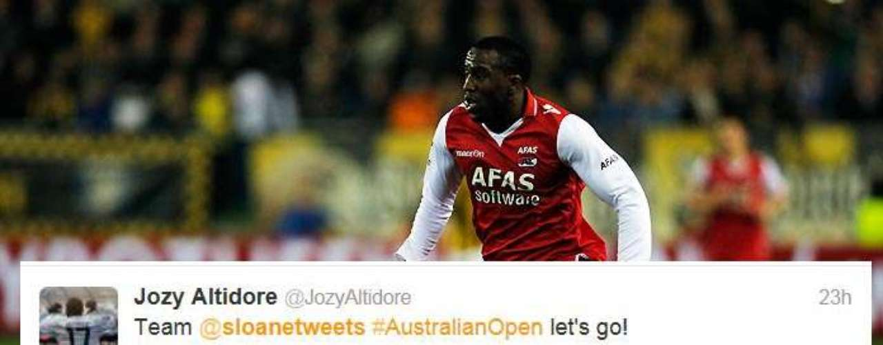 Even American soccer player Jozy Altidore chipped in with congratulations.