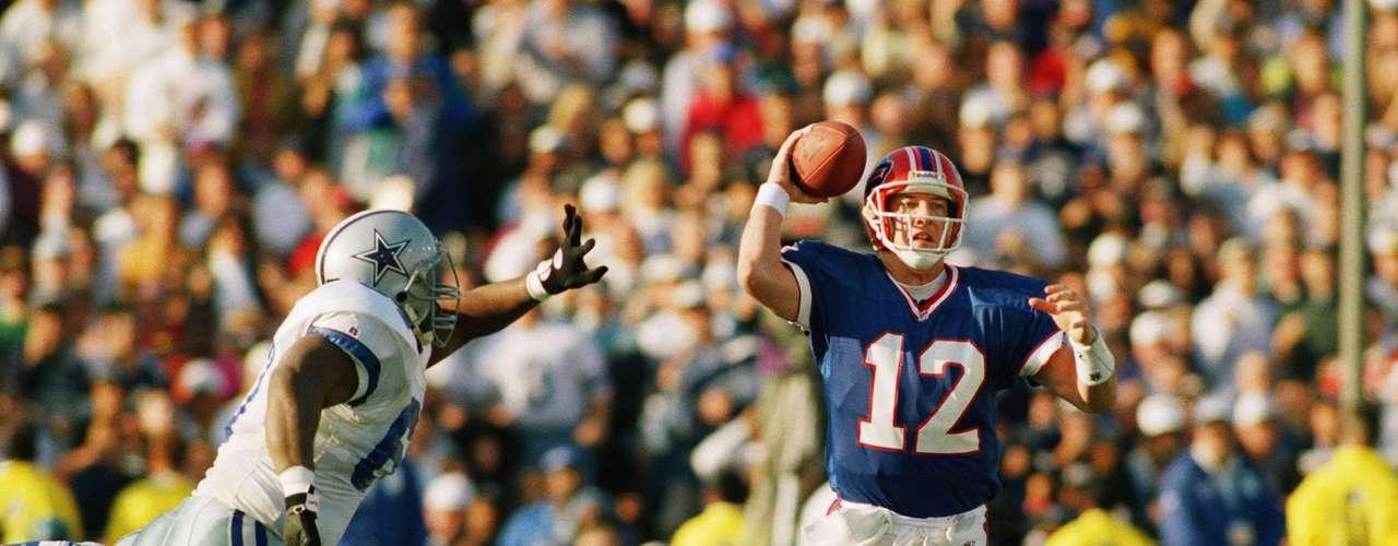 Aunque no es una dinastía, una mención de honor va a los desventurados Bills de Buffalo, el único equipo de la NFL que llegó a cuatro Super Bowls consecutivos, a pesar de que los perdieron todos.