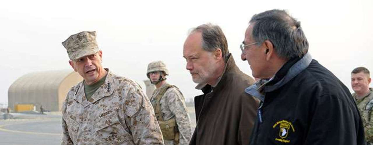Situación que reconoce el secretario de Defensa como inadmisible para el ejército estadounidense. \