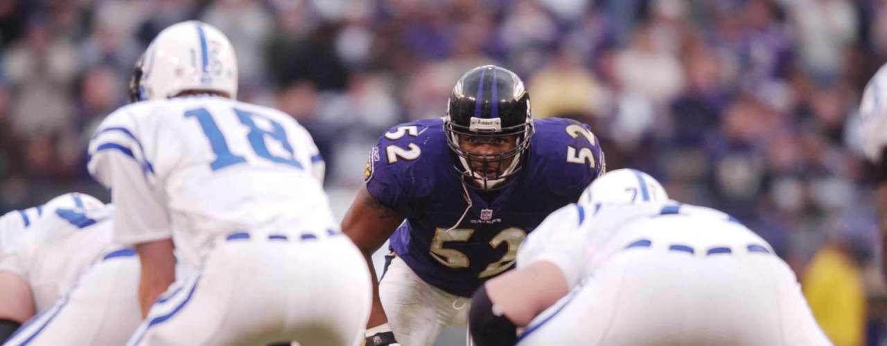 El Linebacker siempre atento para cazar a su presa, se ganó muy pronto el respeto de la liga y de sus rivales.