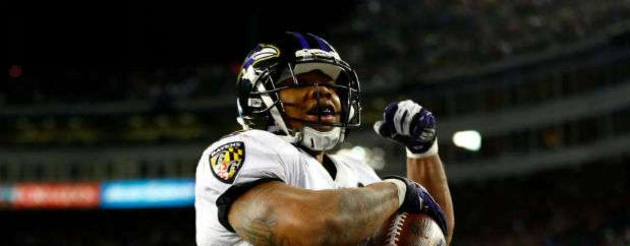 En Ray Rice recae el ataque terrestre de los Ravens. Posee paciencia para esperar los bloqueos de la línea y así aprovechar los huecos. Es muy seguro de manos, por lo que Baltimore tendrá muchas esperanzas en él.