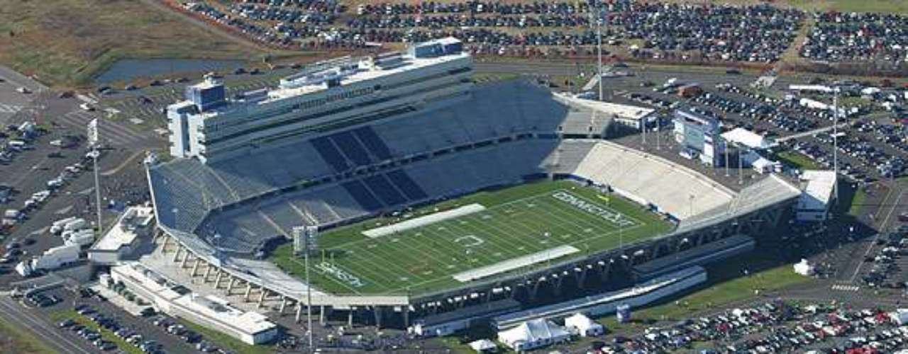 Rentschler Field in Connecticut has a great capacity as a college stadium.
