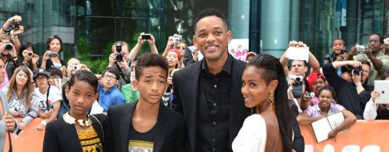 JADEN Y WILLOW. Will Smithescogió para su hija el nombre Willow, mientras quesu esposa, Jada,eligió Jaden para el varón. No se esforzaron mucho, ¿no?