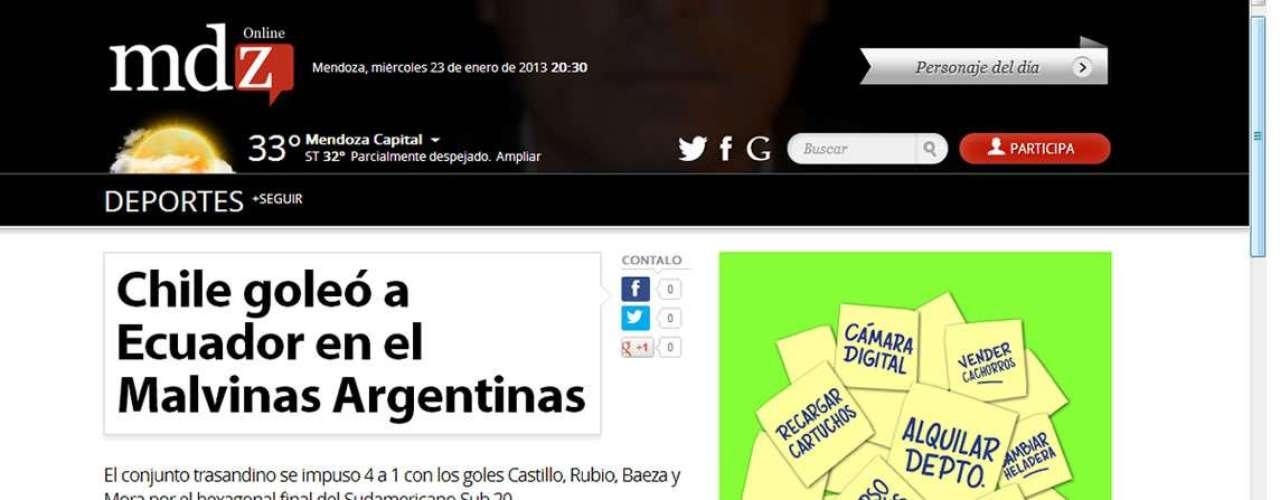 MENDOZA ON LINE DE ARGENTINA