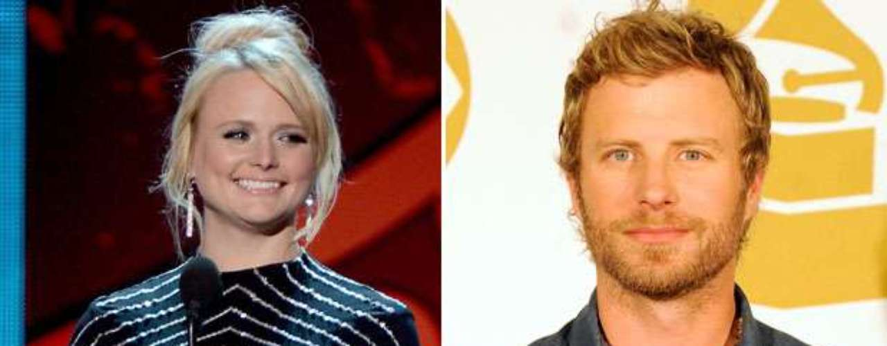 As will country stars Miranda Lambert and Dierks Bentley