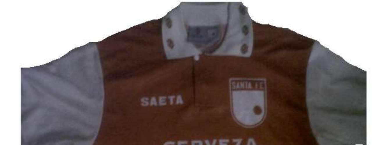 Camiseta de Independiente Santa Fe en año 1994