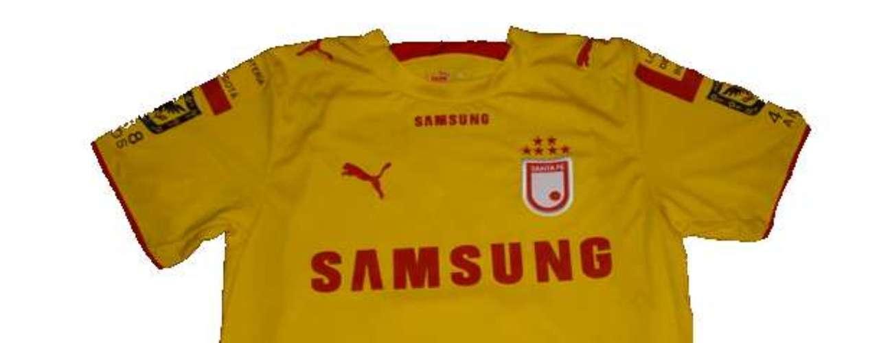 Camiseta de Independiente Santa Fe en año 2006