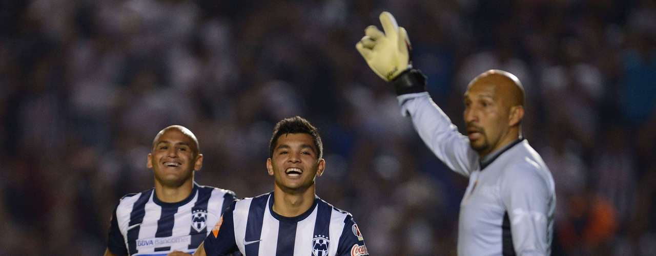 Monterrey suffered to beat San Luis 3-2, a team which has yet to win.