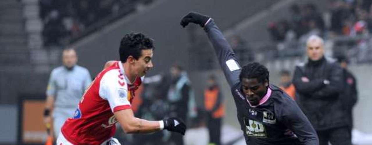 Gaetan Courtet falló un penalti, pero Stade de Reims alcanzó a rescatar el empate a un gol ante Toulouse.