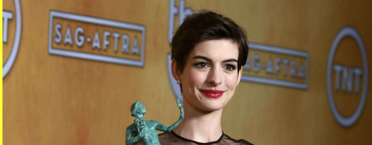 Actress Anne Hathaway, from the film \