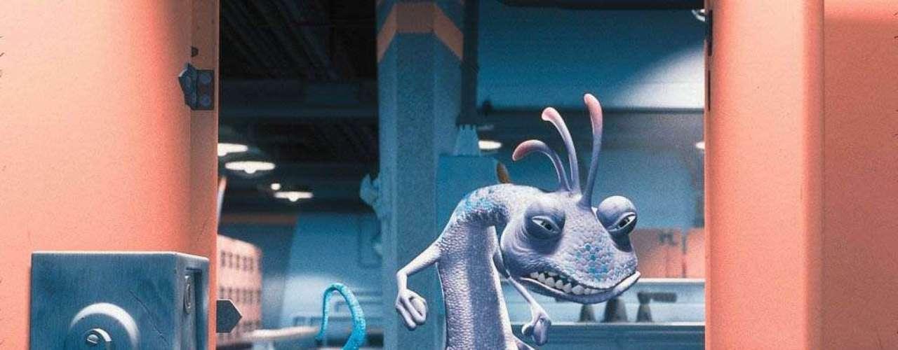 Randall Boggs es el antagonista de 'Monsters Inc.' y con la voz de Steve Buscemi incomodó a más de un pequeño con su piel camaleónica y su apariencia de lagartija sediciosa.
