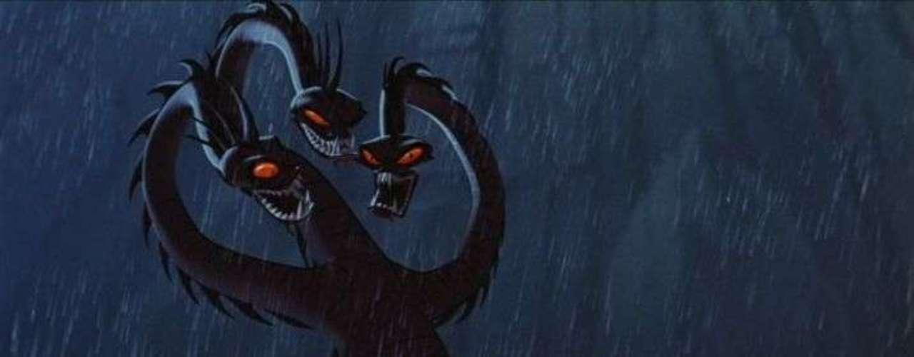 En 1997 el estreno de 'Hercules' fue uno de los más rentables para Disney. La visión animada del personaje mítico más grande de todos los tiempos vio todo tipo de criaturas pero la más aterradora fue la Hydra, el verdadero némesis de Hercules.