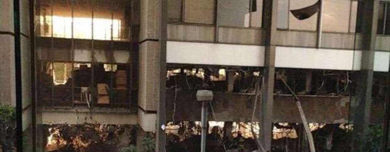 La explosión ocurrió en el sótano del edificio B2 del centro administrativo de Petróleos Mexicanos (Pemex), ubicado en Bahía de Ballenas y Bahía de Todos los Santos, en la colonia Anzures, delegación Miguel Hidalgo.