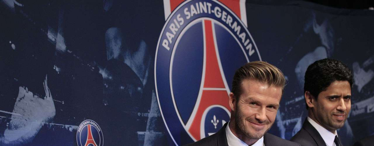 Former England captain David Beckham has joined Paris St Germain on a five-month contract, the French Ligue 1 club said on Thursday.