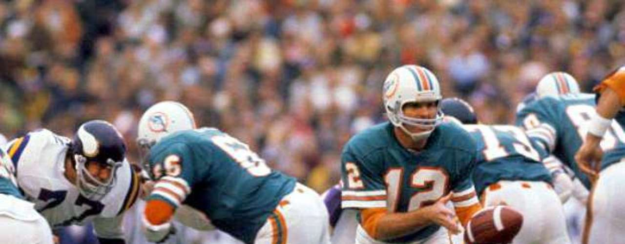 Super Bowl VIII: The Miaim Dolphins defeated the Vikings 27-7 despite only throwing the ball seven times. Larry Csonka ran for 145 yards in the game.
