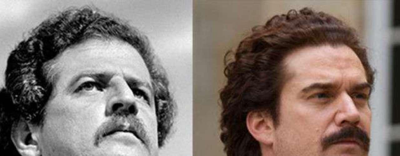 Nicolás Montero interpreta a Luis Carlos Galán, un hombre de grandes ideales políticos que se enfrenta a las mentiras y el poder de Pablo Escobar.