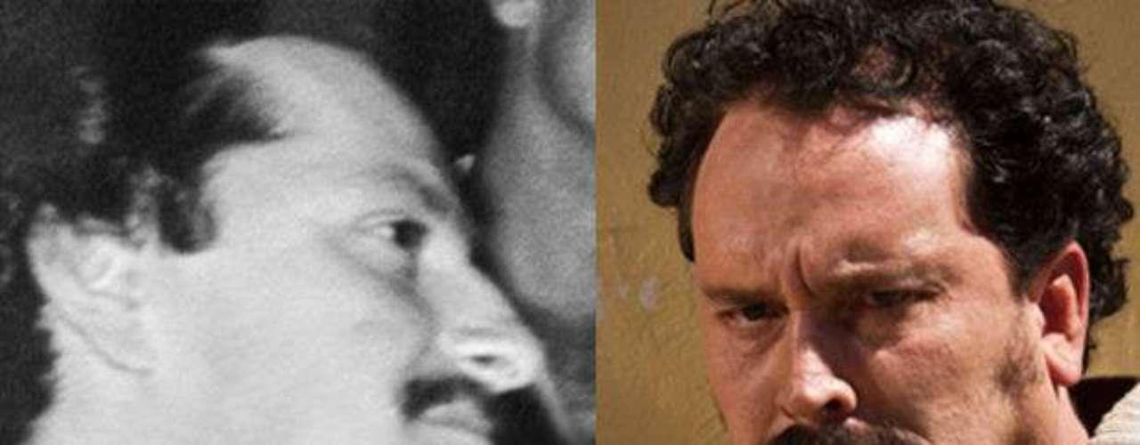 Christian Tappan interpreta a Gonzalo Gaviria el primo de Pablo y su mano derecha en el camino del narcotráfico.