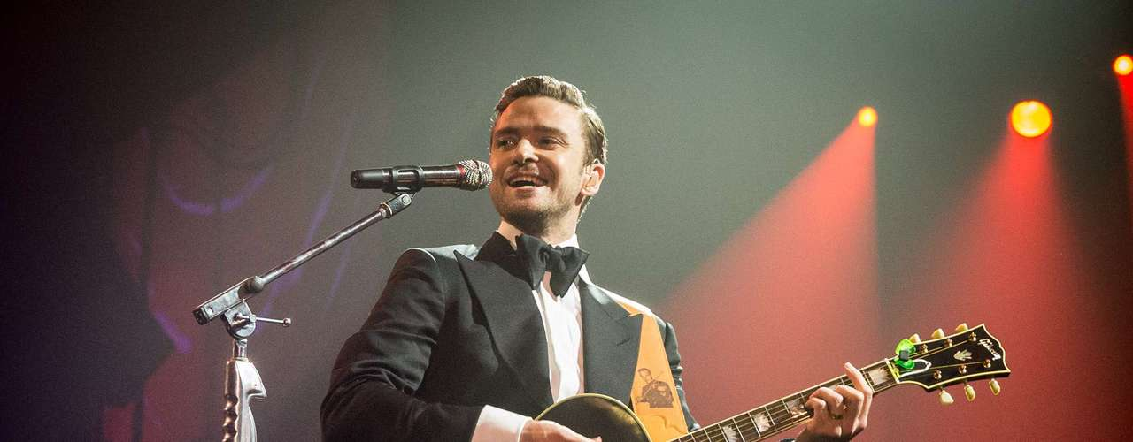 Justin Timberlake hit the stage for the first time in five years for a charity concert in New Orleans on Saturday. The singer played a two-hour set that included two new songs, 'Little Pusher Love Girl' and 'That Girl.'