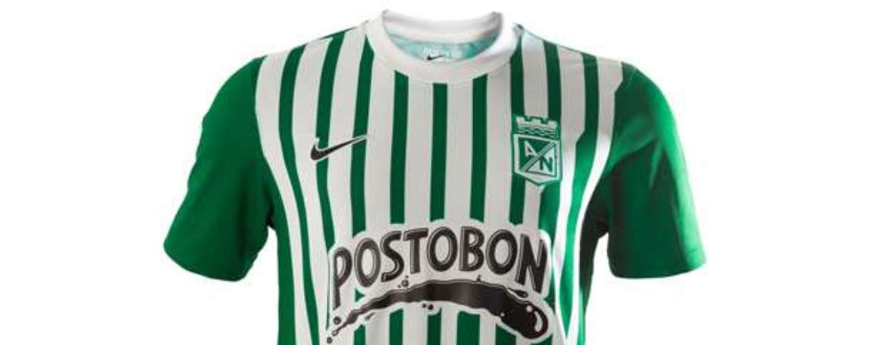 Nike se unió a formar parte de Atlético Nacional y ofrece este modelo para el 2013
