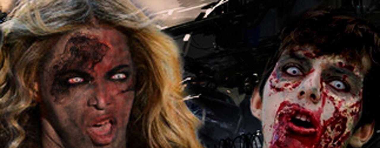 Beyoncé y un poco de maquillaje digital, sumado al gesto poco favorecedor, dan \