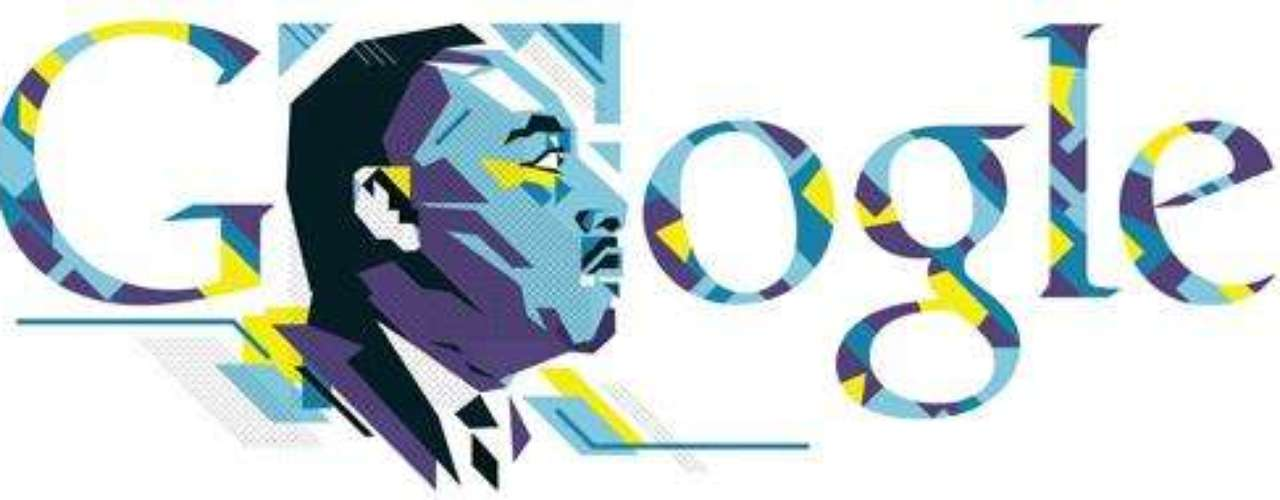 Doodles memorables; la galería de arte de Google. Enero 21 de 2013. Día de Martin Luther King.
