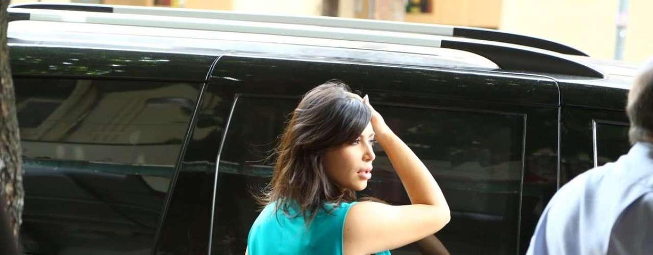 Kim Kardashian tiene cuatro meses de embarazo