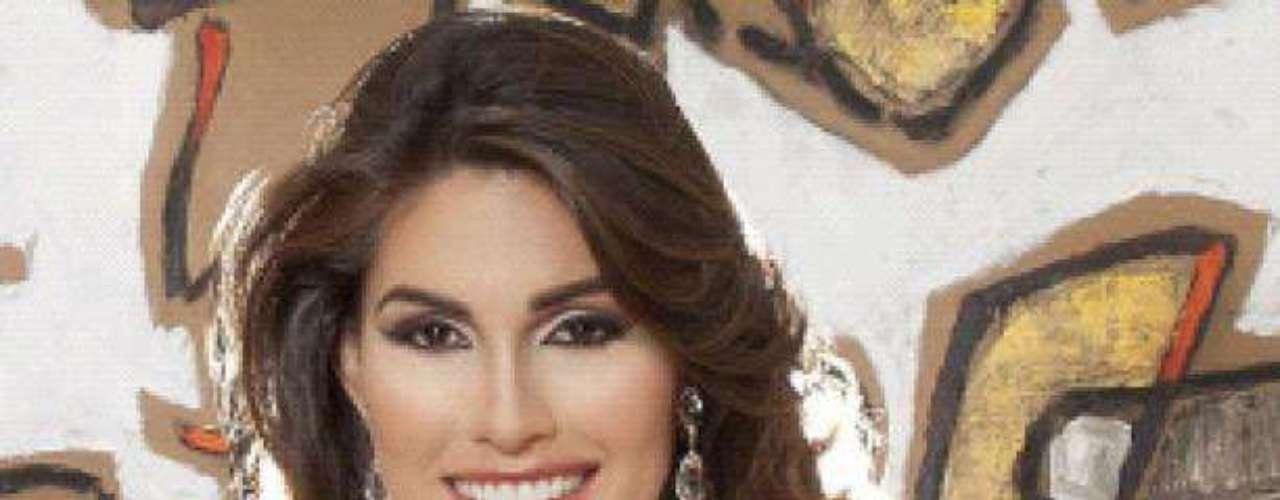 Miss Venezuela - María Gabriela Isler. Tiene 25 años, mide 1.80 metros de estatura (5 ft 11 in) y procede de Maracay