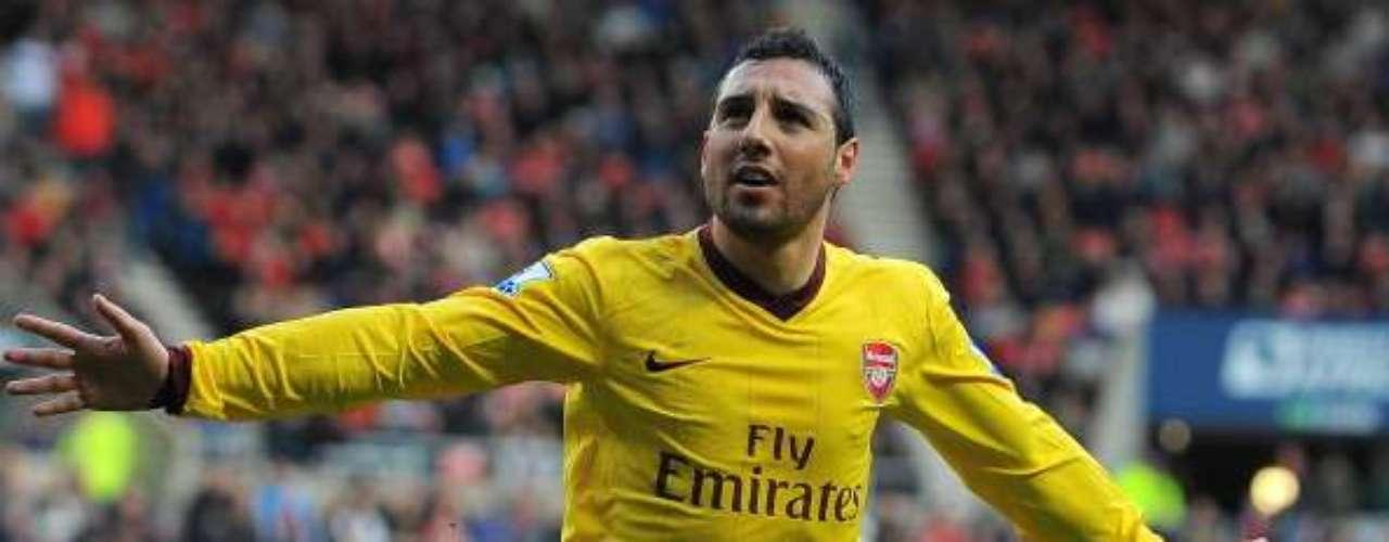 Cazorla marcó su noveno gol de la temporada con los londinenses.